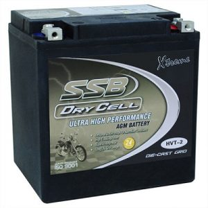 SSB HVT-2 MOTORCYCLE BATTERY