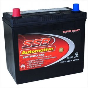 ssb ss40t automotive battery