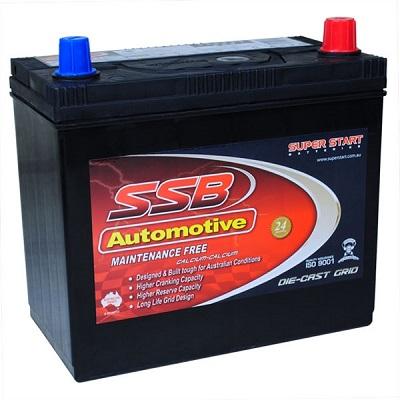 ssb ss40tl automotive battery