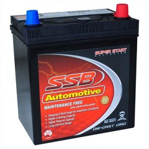 ssb ss40zal automotive battery