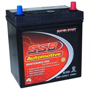 ssb ss40zl automotive battery