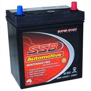 ssb ss40zl automotive battery