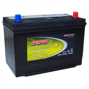 ssb ss70zzlm truck & tractor battery